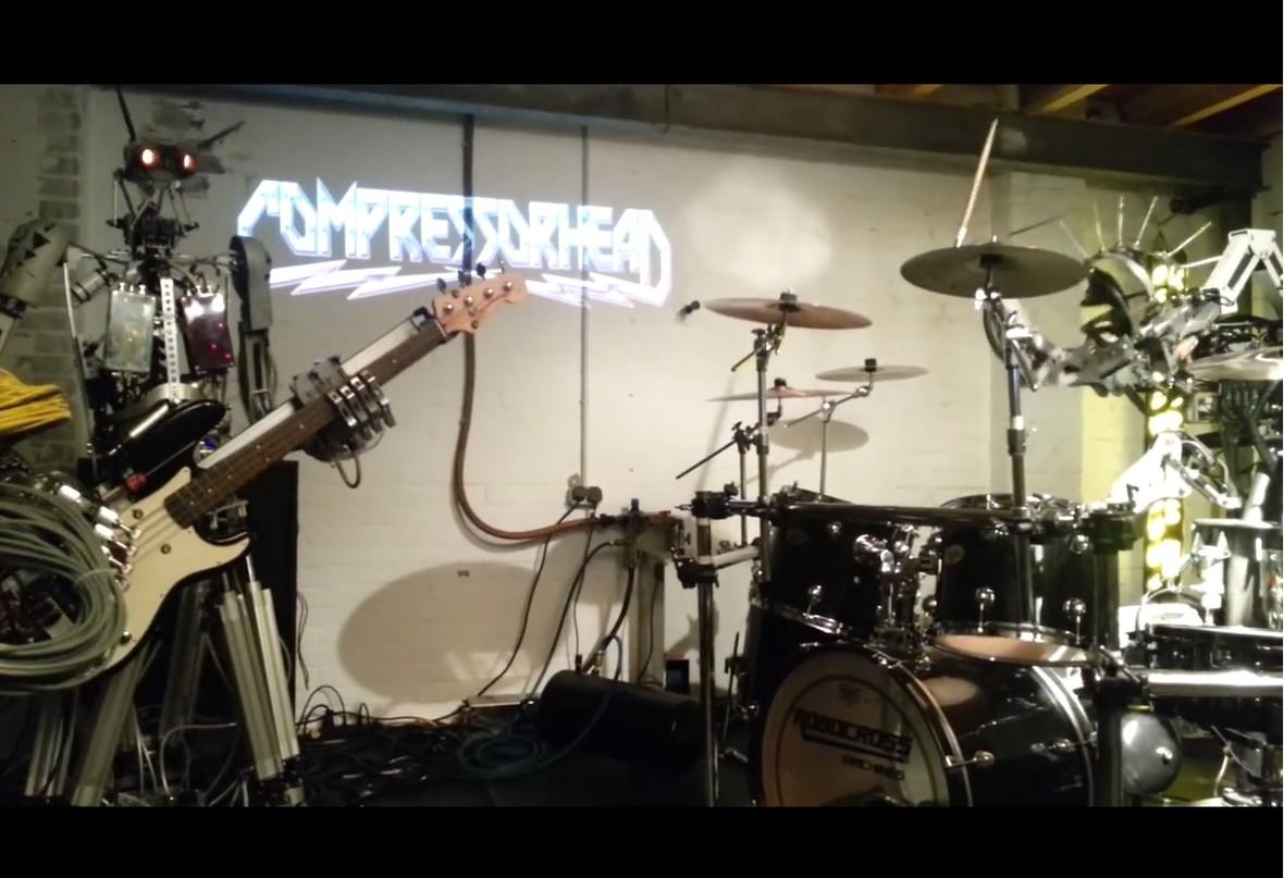 Jak roboty grają Black Sabbath?