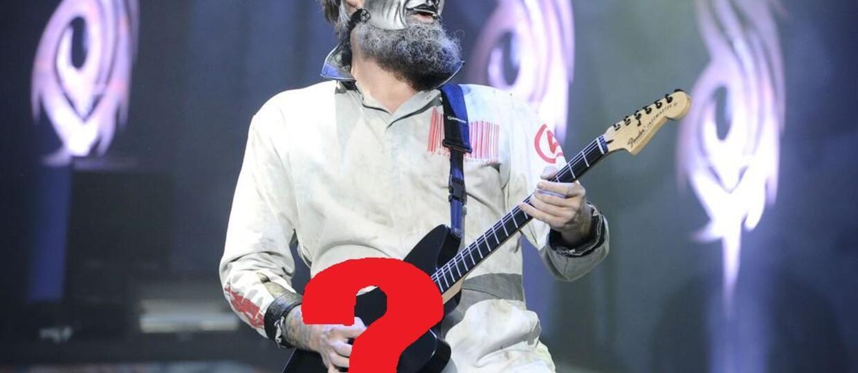 Jak zginęła gitara Slipknota?