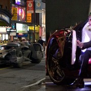 Jared Leto ucieka przed Batmobilem