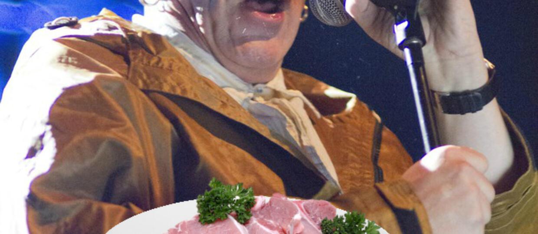 John Lydon boi się kotletów schabowych