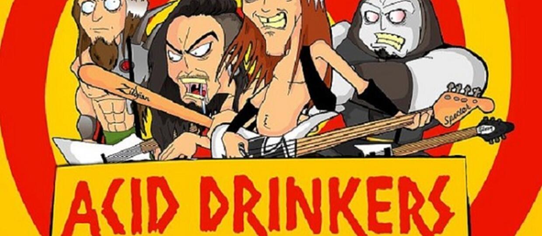 """Komiks o Acid Drinkers - """"Raport o stanie umysłu"""""""