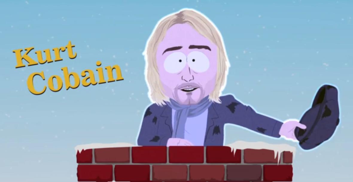 Kurt Cobain wystąpił w South Park