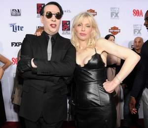 Marilyn Manson nie pieprzy się z Courtney Love