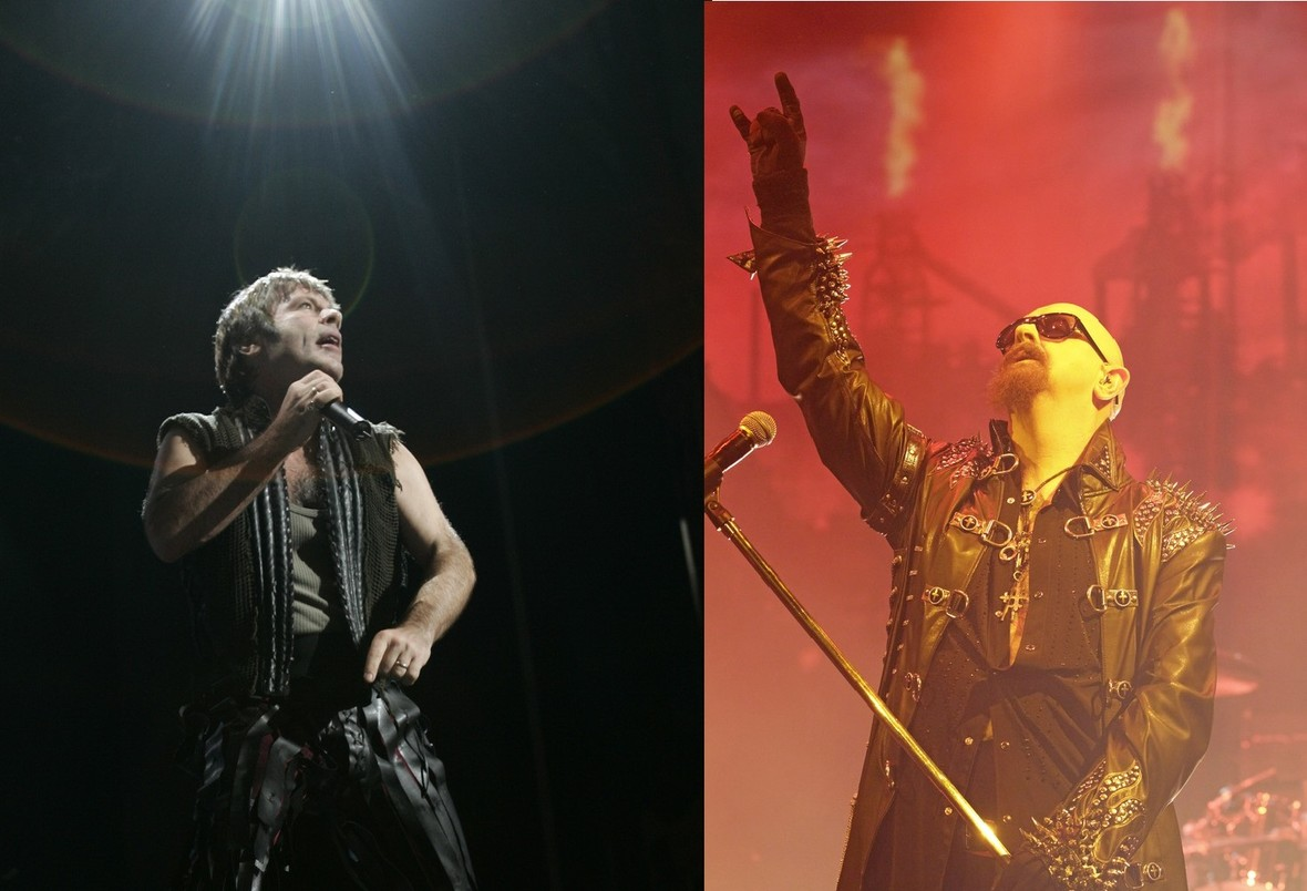 Mashup Iron Maiden i Judas Priest