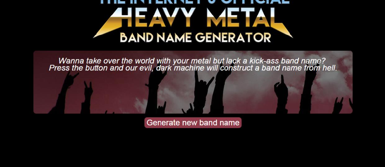 Nie masz nazwy zespołu? Użyj generatora!