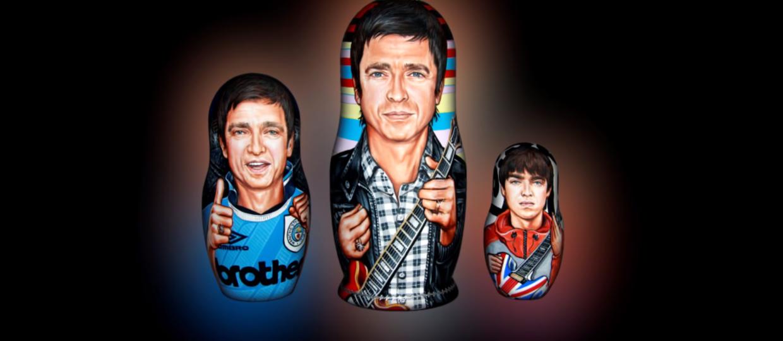 Noel Gallagher został matrioszką!