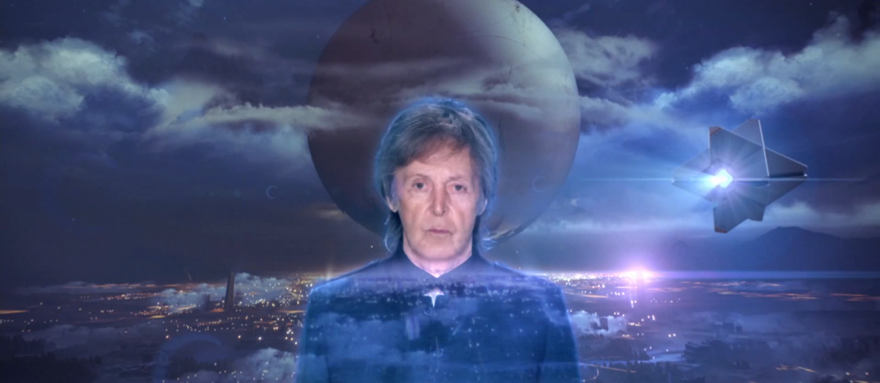 Paul McCartney ma swój hologram