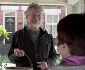 Robert Plant wylewa podjazdy