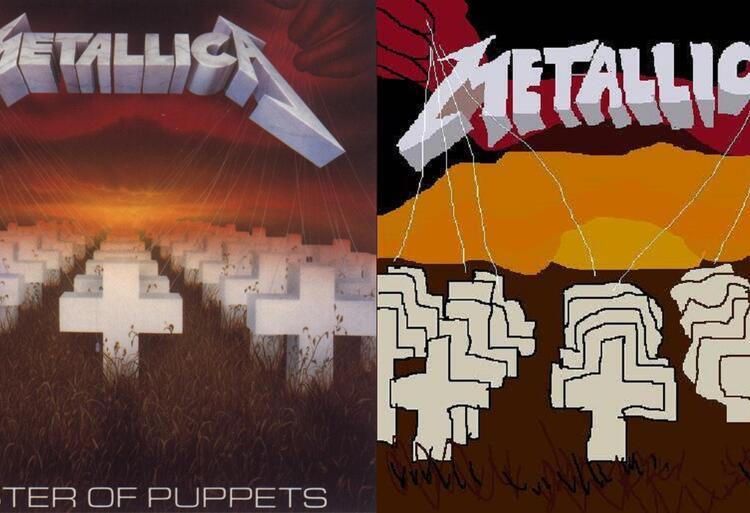 "Metallica ""Master Of Puppets"""