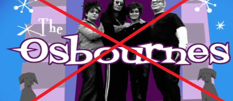"""""""Rodzina Osbourne'ów"""" jednak nie wróci"""