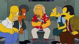 Sammy Hagar zagra z Homerem Simpsonem?