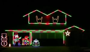 Slipknot i Disturbed w świątecznej iluminacji