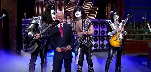 TOP 10 rockowych występów u Davida Lettermana
