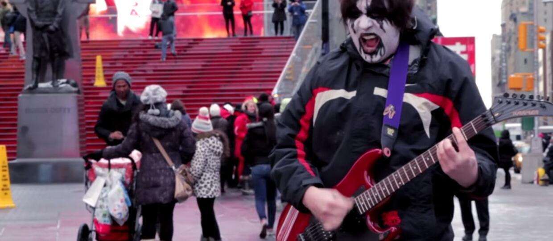 Uliczny black metal na smutno