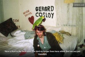 Wynajmij mieszkanie Kurta Cobaina! [GALERIA]