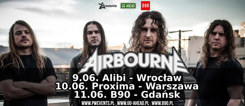 Airbourne zaprasza na koncerty w Polsce