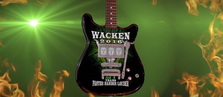 Kto jest pierwszym headlinerem Wacken 2016?