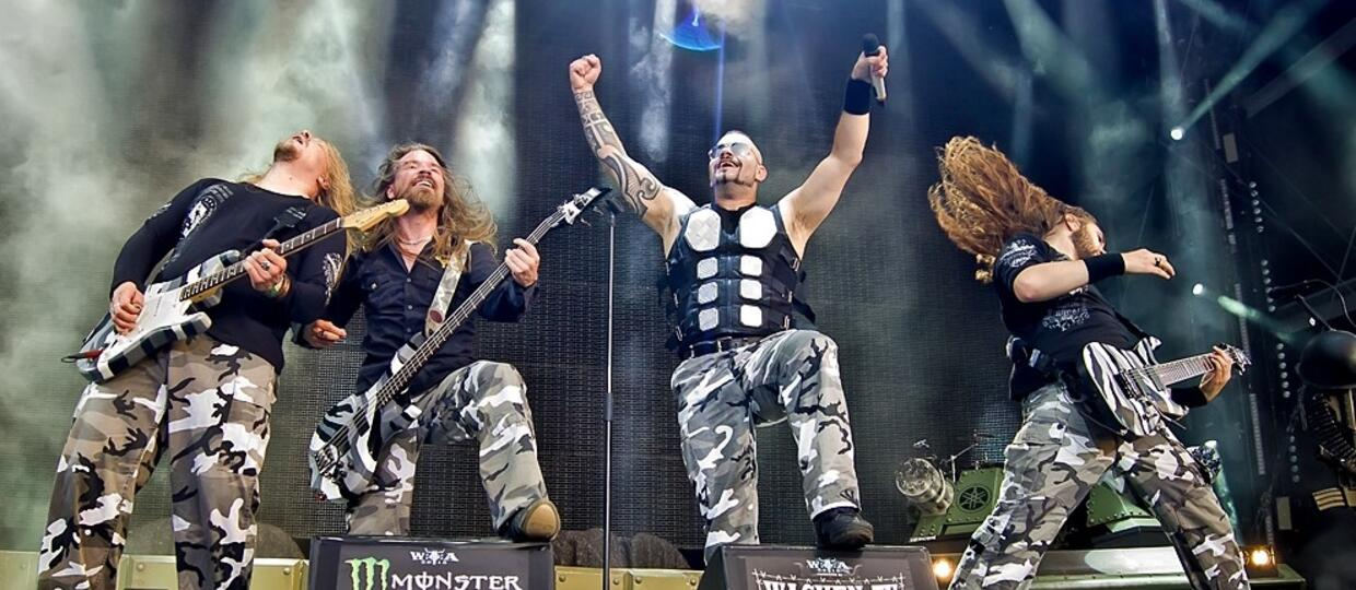 Sabaton na Wacken Open Air 2015 [GALERIA]