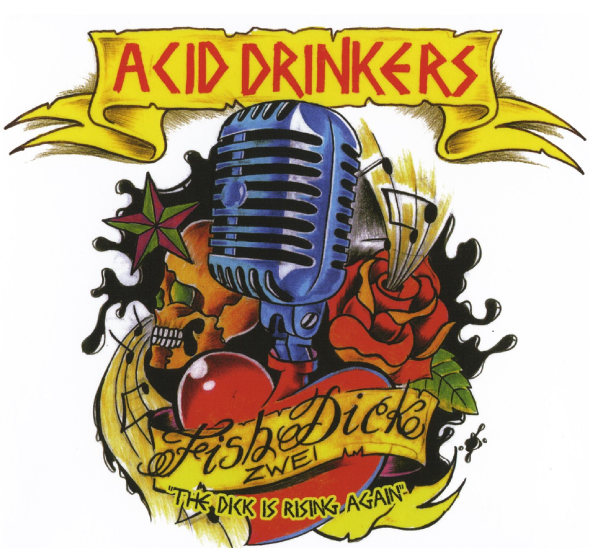 "5 lat od wydania ""Fishdick Zwei - The Dick Is Rising Again"" Acid Drinkers"