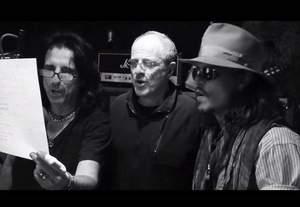 Alice Cooper, Johnny Depp i Joe Perry grają Pink Floyd