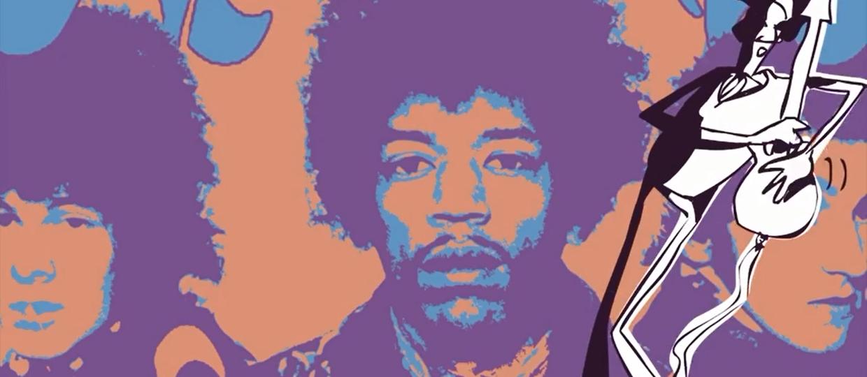 Animowany Hendrix w ostatnim wywiadzie