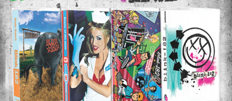 Blink-182 wyda 4 albumy na kasetach magnetofonowych