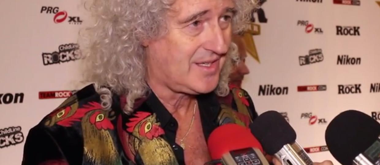 Brian May złożył hołd Freddiemu Mercury'emu