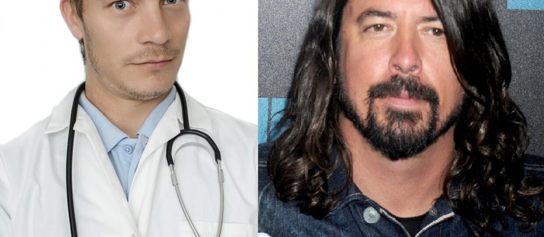 Dave Grohl zagrał ze swoim lekarzem
