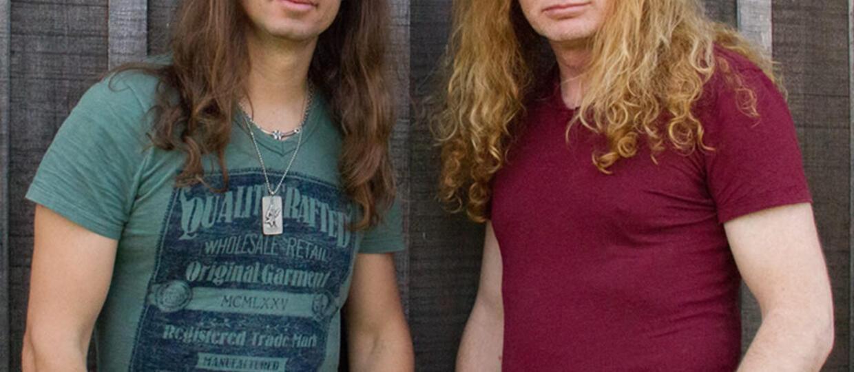 Dave Mustaine przedstawia nowego gitarzystę