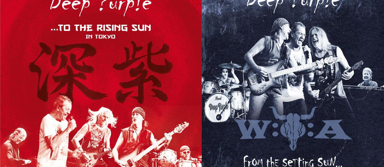 Deep Purple przy wschodzie i zachodzie słońca
