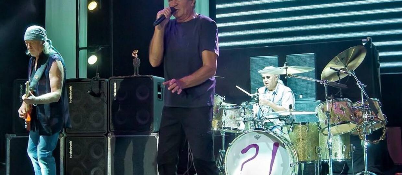 Deep Purple zagrał dwa nowe utwory w Łodzi