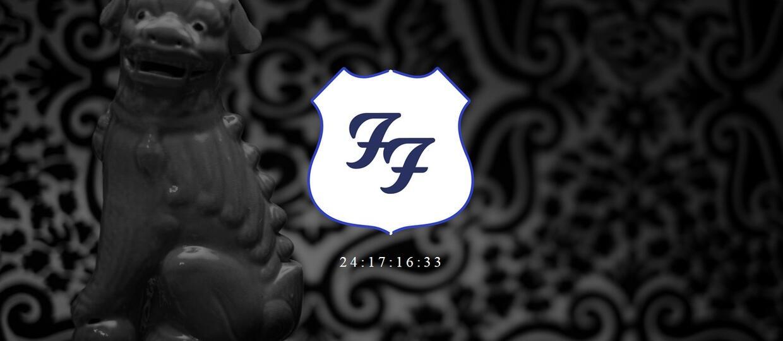 Do czego może odliczać zegar na stronie Foo Fighters?