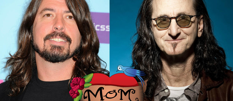 Foo Fighters dla mamy muzyka Rush