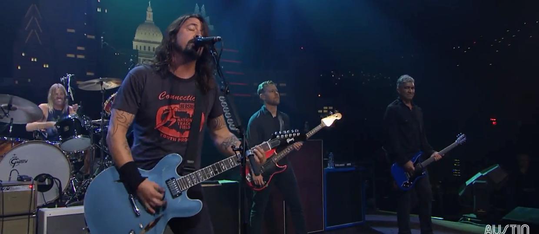 "Foo Fighters zagrali w ""Austin City Limits""!"