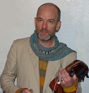 Frontman R.E.M. świętuje