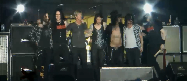 Guns N' Roses na chwilę w starym składzie!