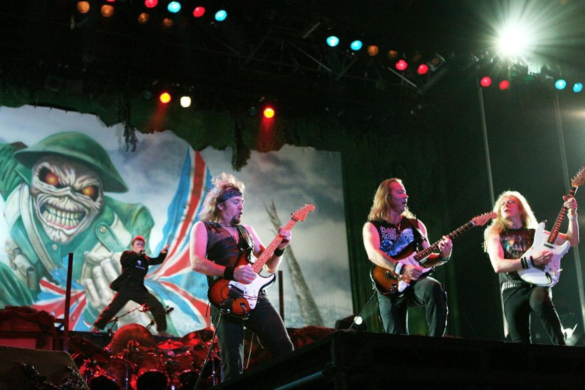 Iron Maiden będzie koncertować 2 lata?