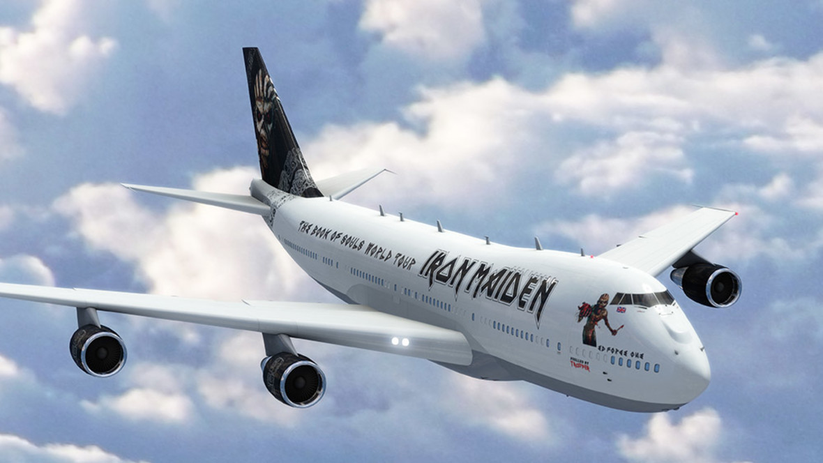 Iron Maiden z nowym Ed Force One