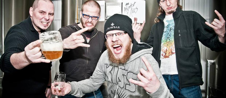 J.D. Overdrive piwem oblewa nowy album
