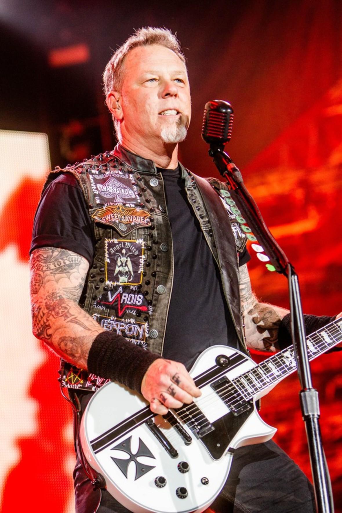 James Hetfield urodził się 52 lata temu