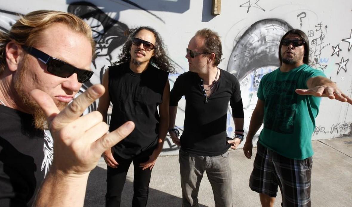 "Jimmy Page i Jack White fanami ""St. Anger"" Metalliki"