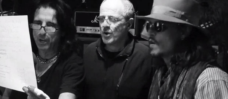 Johnny Depp, Alice Cooper i Joe Perry wydadzą płytę