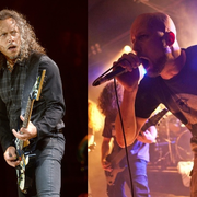 Kirk Hammett na jednej scenie z Meshuggah!