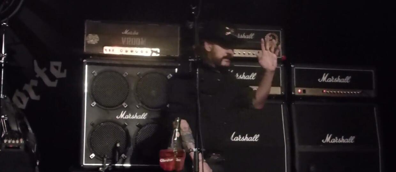 Lemmy zszedł ze sceny po 3 utworach
