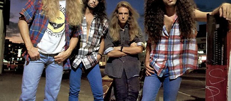 Megadeth zmalowało winyle