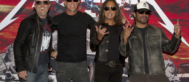 Metallica w końcu w studiu nagraniowym!