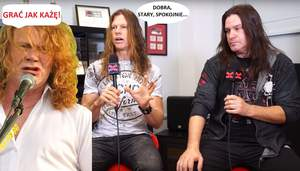 Muzycy Megadeth: Musieliśmy brzmieć jak chciał Dave Mustaine