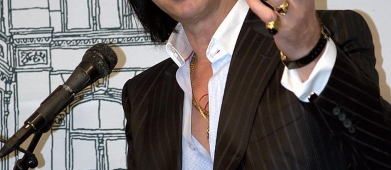 Nick Cave wyda książkę z torebek na wymiociny