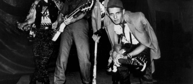 Nieznany noworoczny koncert The Clash