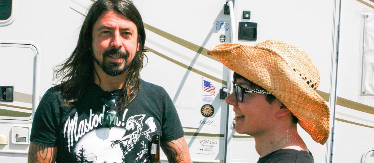 Polscy fani zaskoczyli muzyków Foo Fighters